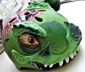 Raskullz Kids' T-Rex Awesome Bike Helmet size Small - $15 (Bristol, Pa) for Sale for sale  Croydon, PA
