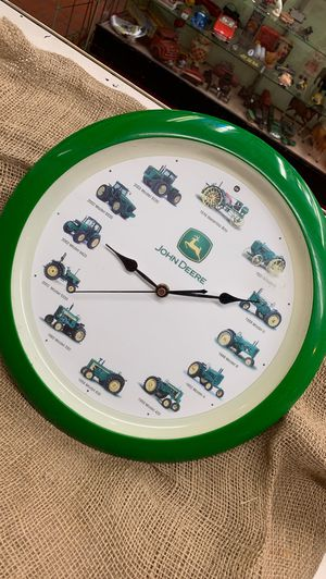 John Deere Farming Tractor Clock Mancabe Garage Farm for Sale in Whittier, CA