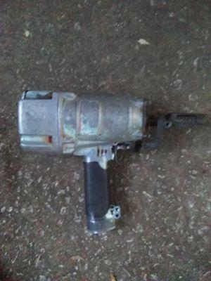 Hitachi nail gun +husky tool bag 40.00 for Sale in Atlanta, GA