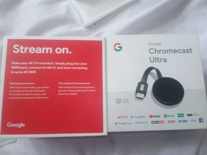 Google Chromecast Ultra for Sale in Mount Rainier, MD