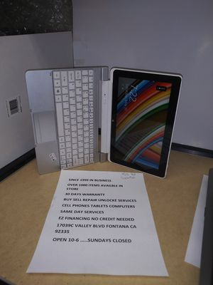 Acer laptop and tablet in perfect condition easy financing no credit needed for Sale in Fontana, CA