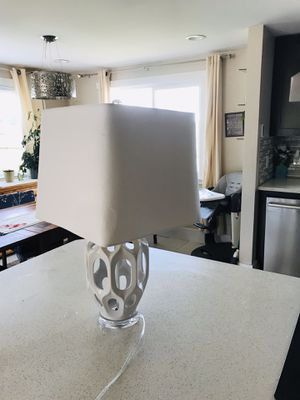 White lamp x2 for Sale in Lynden, WA
