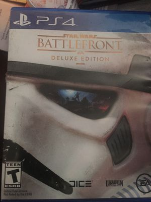Star Wars Battlefront Deluxe Edition for Sale in Annandale, VA