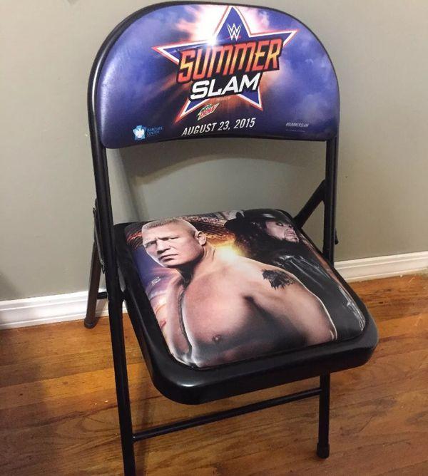 WWE SUMMER SLAM PPV CHAIR