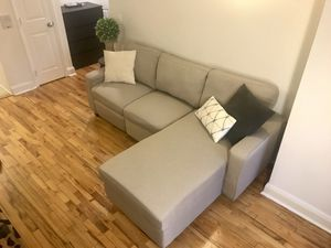 Reclining sectional couch for Sale in Brooklyn, NY