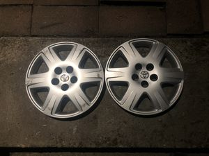 Pair of 2 Corolla hubcaps 16 inch toyota OEM for Sale in Tukwila, WA