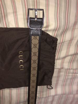 Gucci made in italy belt for Sale in Plantation, FL