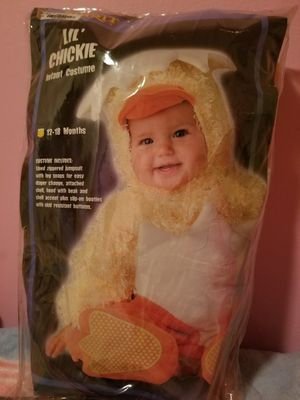 LIL CHICKIE infant costume 12-18 Months for Sale in Washington, DC