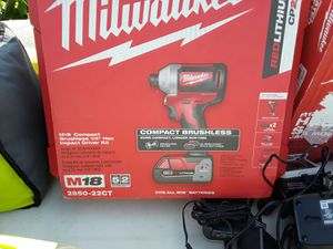 Milwaukee impact drill for Sale in Los Angeles, CA