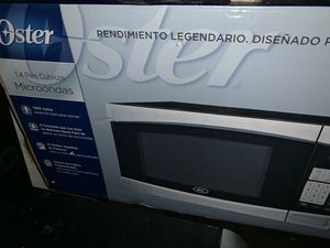 Stainless Steel 1.4 cu microwave for Sale in Traverse City, MI