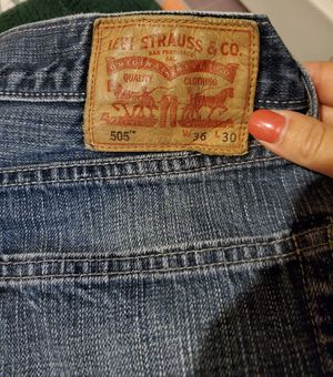 Mens Levis 505,Straight leg,Vintage Denim Blue Jeans, Men's Size 36/30 for Sale in Ventura, CA