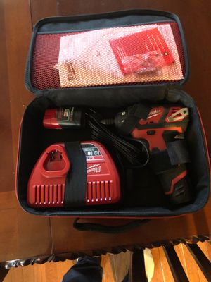 Milwaukee cordless drill for Sale in Henderson, NY