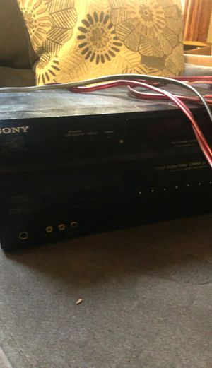 Amp Sony STR-DE598 6.1 Channel Surround Sound AM/FM Audio/Video Receiver for Sale in City of Orange, NJ