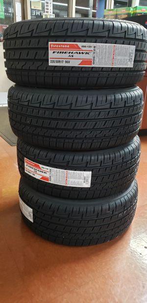 Firestone 235-50-R17 - New Tires - Never Used for Sale in Miami, FL