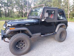 1995 Jeep Wrangler Rio Grande for Sale in Zephyrhills, FL