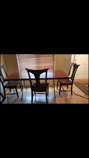 Breakfast Table and 6 Chairs for Sale in Aurora, IL