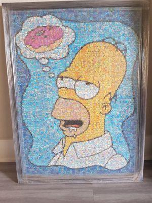 Homer Simpson Puzzle Portrait for Sale in Albuquerque, NM