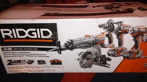 5pc combo kit ridgid for Sale in Richmond, CA