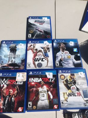 PS4 games for Sale in South Windsor, CT