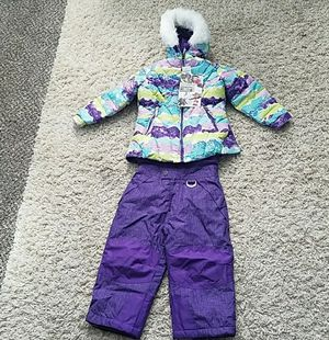 Hooded Jacket and Snow Bib Pants 2 Piece Set for Girls Weatherproof 32 Degrees for Sale in Snohomish, WA
