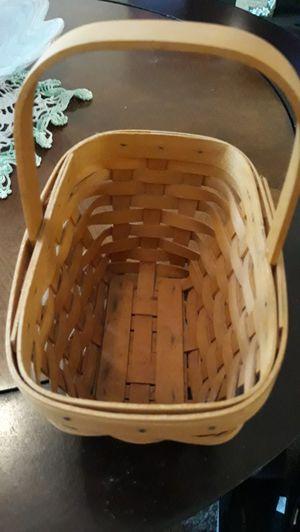 Longaberger oblong basket for Sale in Zephyrhills, FL