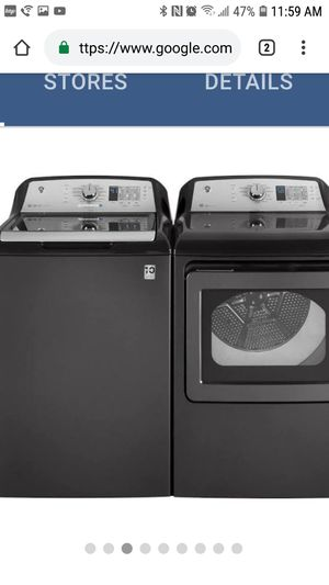 GE top-load electric washer and dryer $39 down for Sale in Fort Worth, TX