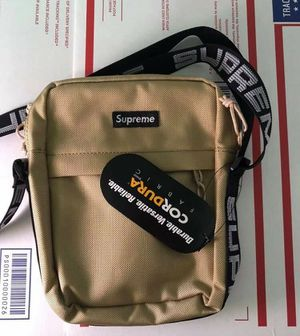 Khaki supreme shoulder bag for Sale in Escondido, CA