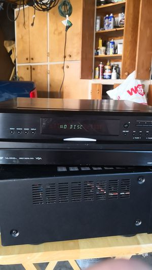 Onkyo 6 disc cd player for Sale in Downey, CA
