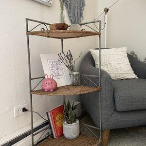 Corner Wicker Shelf for Sale in Los Angeles, CA