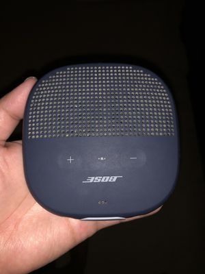 Bose Soundlink Mirco Bluetooth Speaker for Sale in Austin, TX