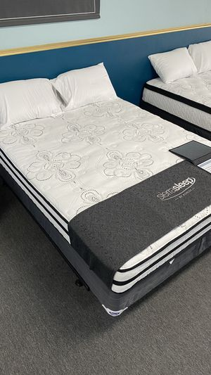 10'' Queen Size Hybrid Mattress Plush with foam and spring 6 PP2 for Sale in Irving, TX