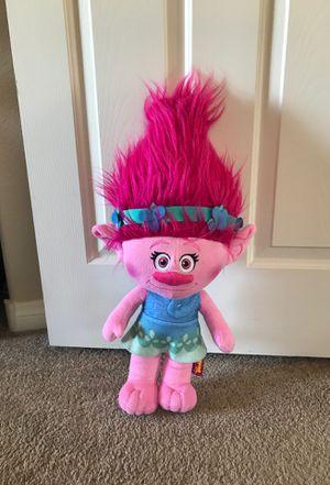 """Dreamworks Trolls Poppy stuffed animal 22"""" tall for Sale in Las Vegas, NV"""