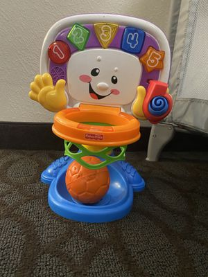 Baby fisher price basketball toy for Sale in Dallas, TX