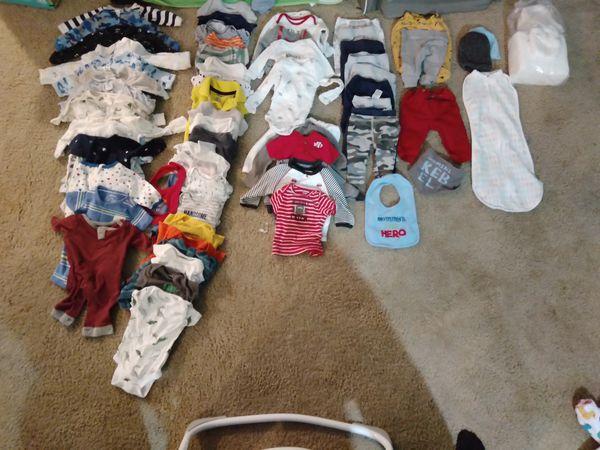 Carter's Newborn Boy Clothes