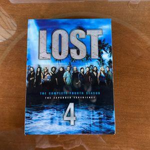 Lost Season 4 3 DVD Set for Sale in Naperville, IL
