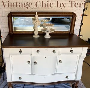 Antique Tiger Oak Buffet/Sideboard for Sale in Woodbridge, VA