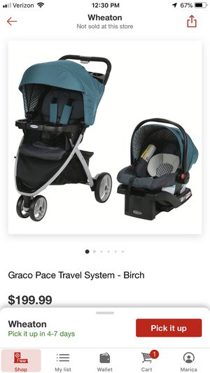 Infant travel system for Sale in Silver Spring, MD