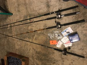 Fishing rods and reels for Sale in Vancouver, WA