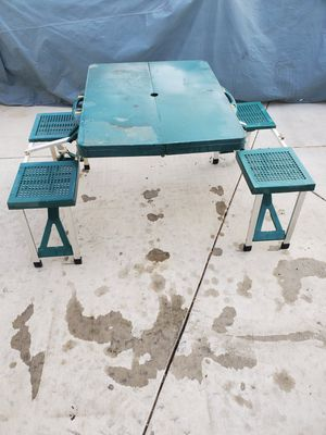 Portable camping table Foldable for Sale in Montclair, CA