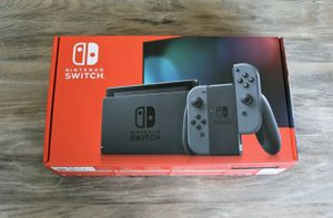 Nintendo Switch with Gray Joy Cons VERSION 2 V2 BRAND NEW UNOPENED! for Sale in Kissimmee, FL