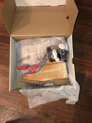 (WITH RECEIPT 100% AUTHENTIC) Timberland Boots x Off White Edition Size 7 for Sale in Franklin, TN