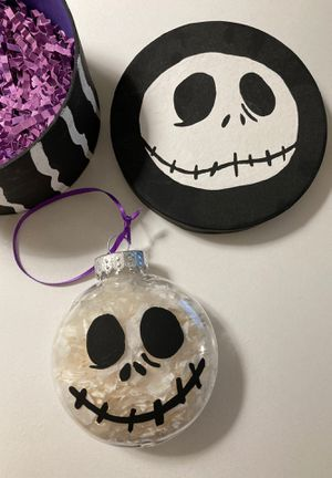 Nightmare Before Christmas - Jack Skellington Christmas Tree Ornament in a one-of-a-kind box for Sale in San Jose, CA