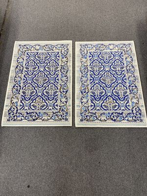 Two matching door mat area rugs brand new for Sale in Salem, OR