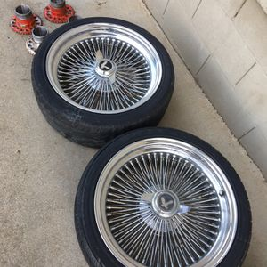 18 Inch Wire Wheels for Sale in Salinas, CA