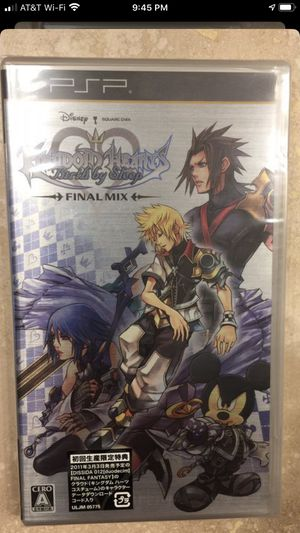 Psp birth by sleep kingdom hearts for Sale in Irvine, CA