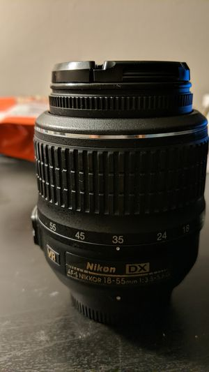 Nikon DX AF-S 18-55mm f3.5-5.6G for Sale in NO POTOMAC, MD