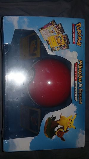 Pokemon Box/Tin Pikachu and Eevee Pokeball Collection for Sale in Westminster, CA