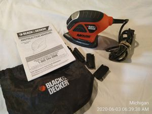Black and Decker MS600B Mouse Sander Polisher MS600B Good Condition for Sale in Dearborn, MI