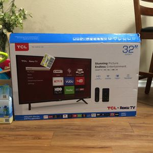 TCL Roku TV 32'' for Sale in Plano, TX