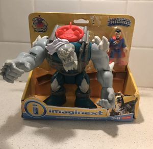 Imaginext Batman Doomsday & Superman for Sale in Thompson's Station, TN